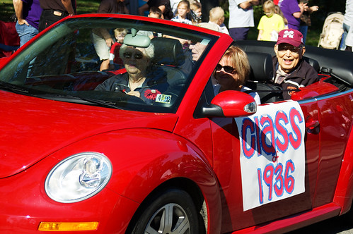 Homecoming 2011:  Class of 1936.