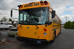 JUSD 15 (crown426) Tags: california colton bluebird schoolbus aare allamerican newbus predelivery d3re azbussales julianunionschooldistrict
