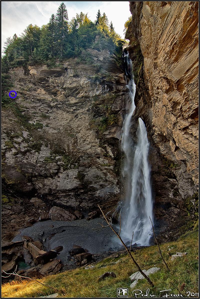 Suiza - El pais de las cascadas - Reichenbachfälle