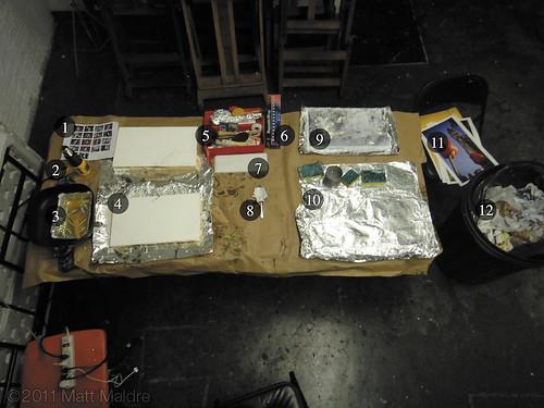 Step 2: Waxing setup