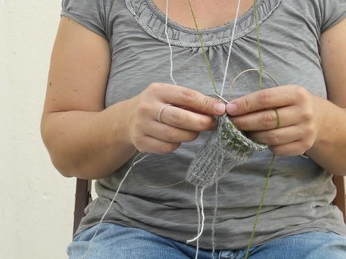 tricotar com cor