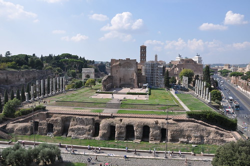 Where the Colosseus stood