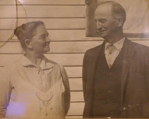 Daniel and Lowerta Leckrone circa 1930