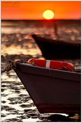 Two boats in Grado, the Golden Island (Alessandro Laporta Photographer) Tags: tramonto grado gorizia friuliveneziagiulia goldenisland isoladelsole mygearandme alessandrolaporta fotocesco twoboatsingradothegoldenisland