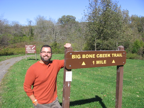 Me on the Big Bone Trail