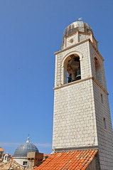Maro & Baro and the City Belltower seen from the city walls