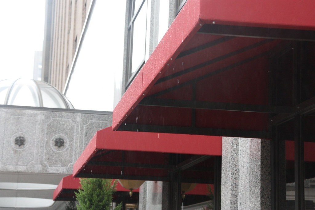 Dripping Awning