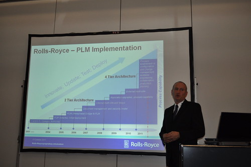 rolls-royce plm implementation