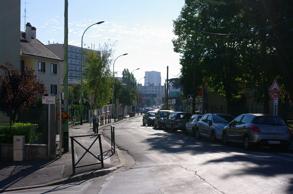 Rue Beethoven, Vitry-sur-Seine, Paris