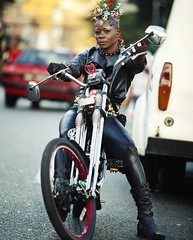 On yer bike! (redbull.com) Tags: carnival red portrait photo bull dont stop redbull dontstop thecarnival onyerbike