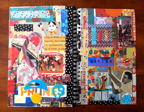 collaged-day-planner
