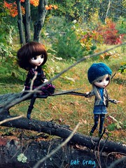 Hiking buddies (miss_skittlekitty) Tags: eos doll hiking pullip rewigged adsiltia