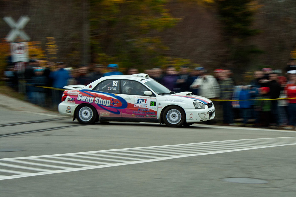 Bruno Carré - Rallye de Charlevoix 2011