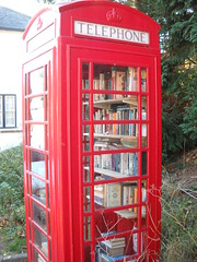 Phone-box library