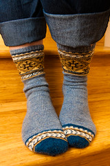 Socktoberfest :: Ilga's Stockings (LollyKnit) Tags: