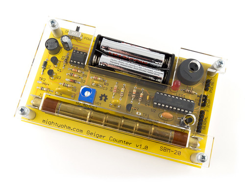 Geiger Counter with Lasercut Case