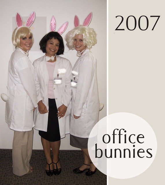 halloween 07 office bunnies