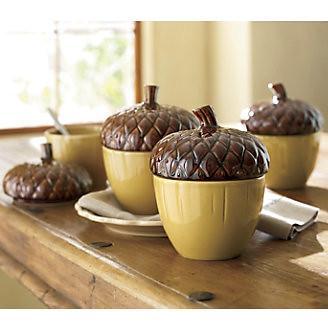 Acorn Soup Bowls
