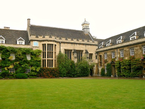 Christ's College quad 1