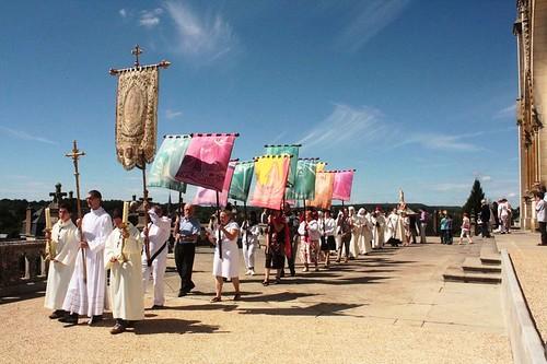 Procesión en una ceremonia
