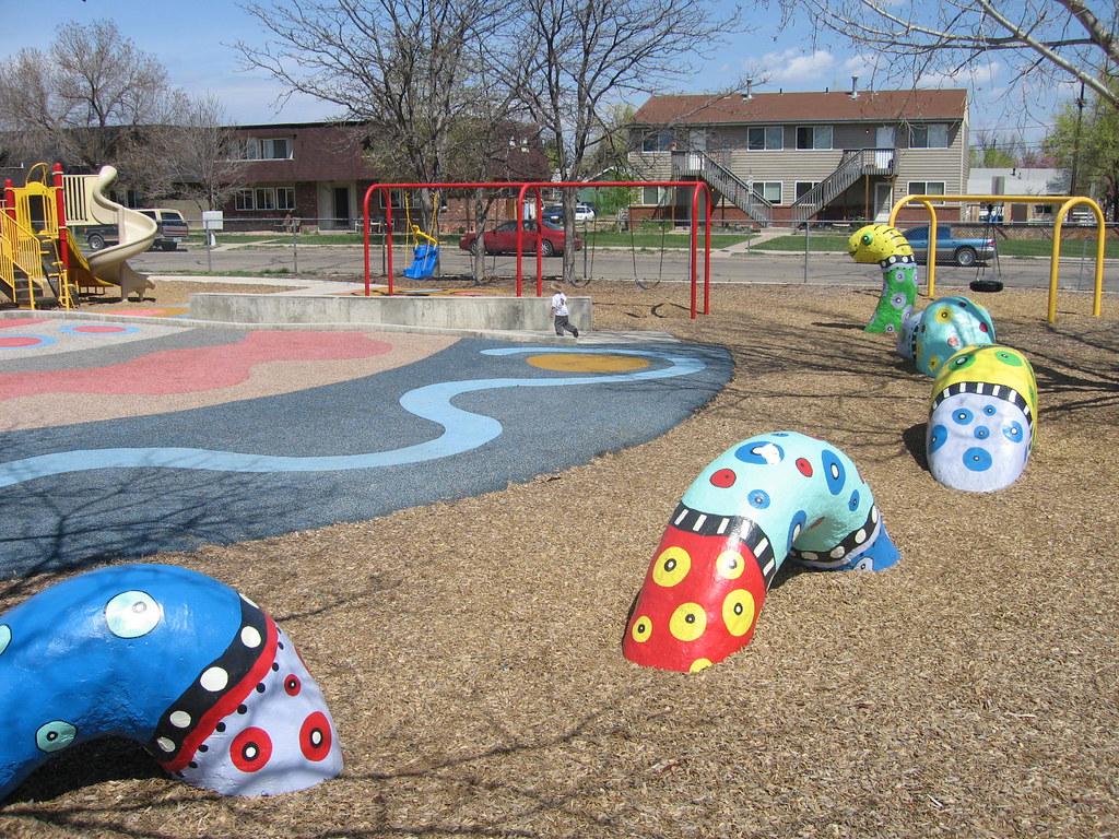 Lafayette Elementary School playground design