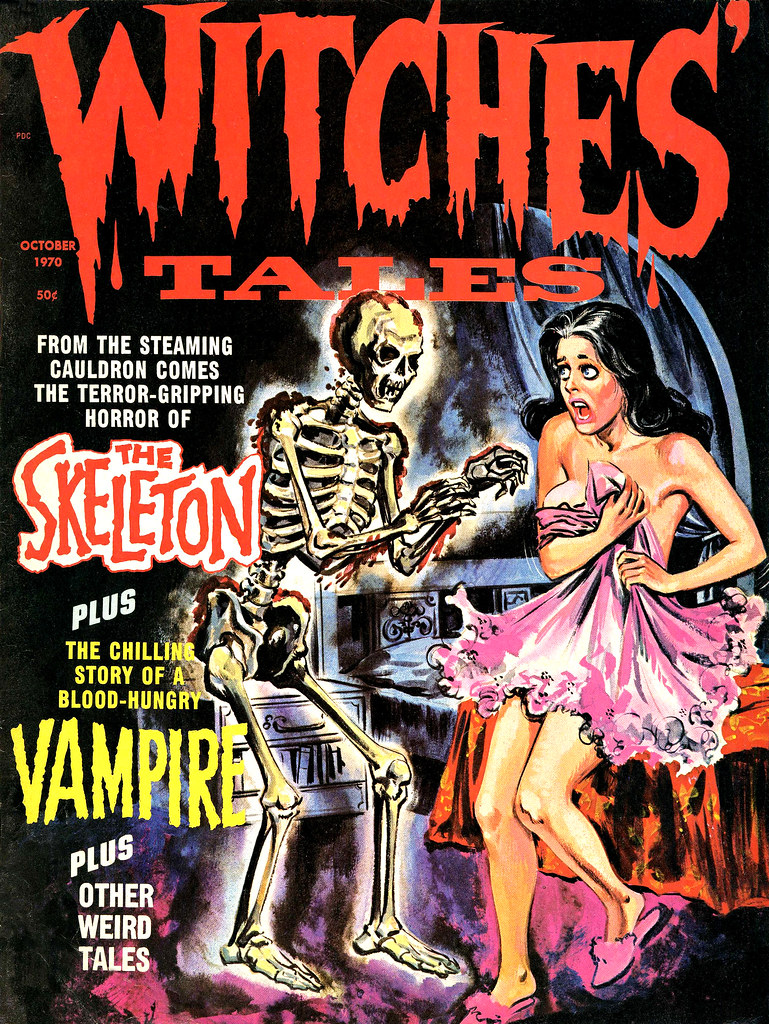 Witches' Tales Vol. 2 #5 (Eerie Publications 1970)