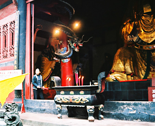 Becoming Immortal in the Ghost City of Fengdu, Yangtse River