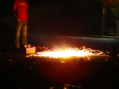 chakree 4 (Adrakk) Tags: india festival fireworks cracker diwali firecracker ptard inde feudartifice pataka dipavali