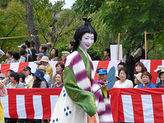 """Kosen-san as """"Wake no Hiromushi"""" (arumukos) Tags: kyoto maiko geiko kimono gion teahouse yakata maikosan ochaya okiya hanamachi yokobue makikosan gionkobu geikosan kagai ozashiki gionkoubu ochayagame ozashikiasobi yukakosan kosensan jidaimatsuri2011 thedaughterofkinotsurayuki wakenohiromushi"""