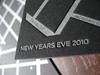 New Year's Eve Letterpress Invites