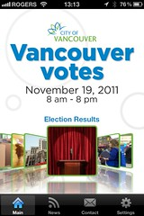 Vancouver Votes iPhone App