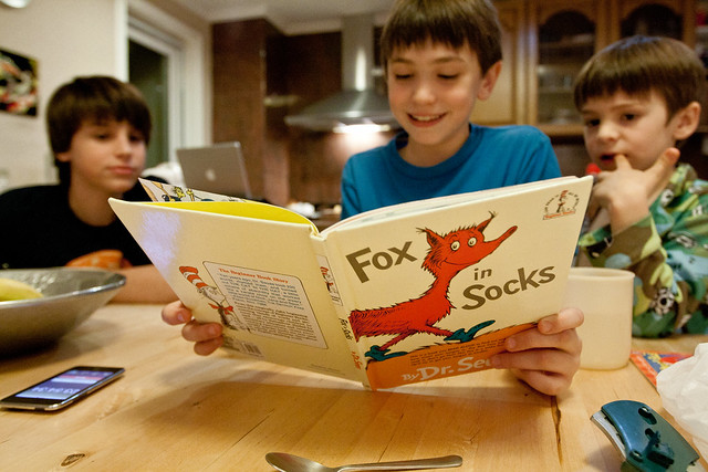 Fox in Socks, A Favorite Dr. Seuss Book