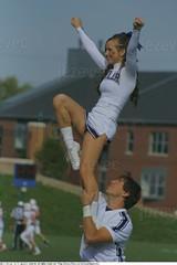 2011-10-22 3103 College Football - Marist at Butler Butler University Cheerleaders (Badger 2