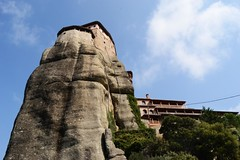 Meteora (Eleanna Kounoupa (Melissa)) Tags: rocks greece epirus    meteoramonasteries