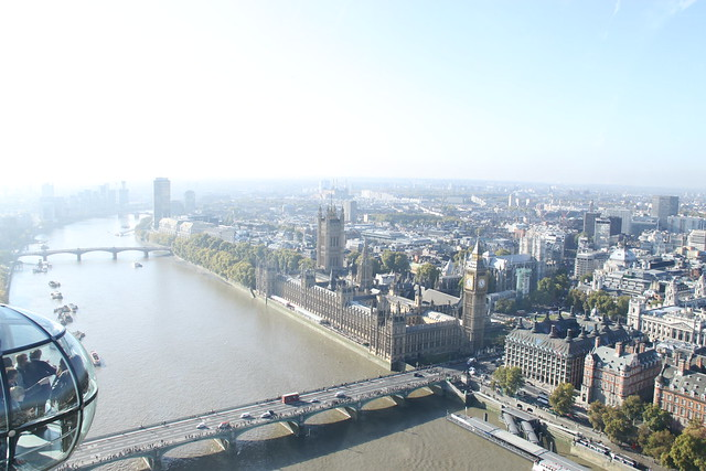 Awesome View From London Eye