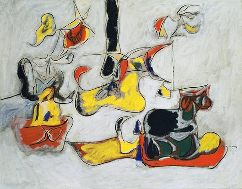Arshile Gorky - Garden in Sochi [c.1943] by Gandalf's Gallery