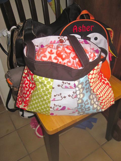 Keeta Collection bag - stuffed full!
