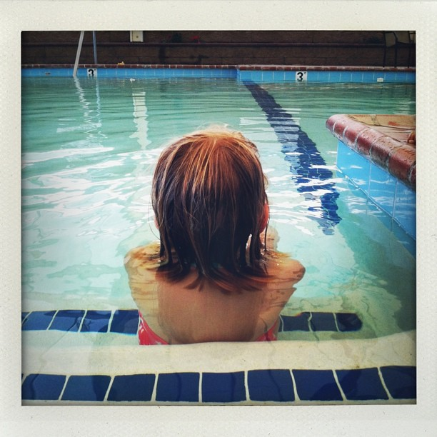 Swim lessons in November #30daysofgratitude