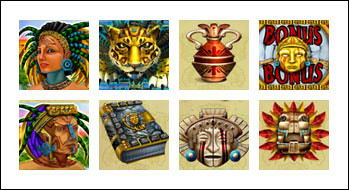 free Golden Jaguar slot game symbols