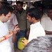 Rahul Gandhi taking Tea on a street dhaba, Sant Ravidas Nagar (2)