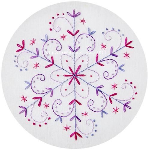 2011 Snowflakes - Lilac