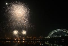 Grand Finale (Martin Peers) Tags: cheshire fireworks canon5d bonfirenight pyrotechnics widnes halton manchestershipcanal rivermersey runcornbridge peelholdings widnesbridge widnesruncornbridge canon2470mml28usm