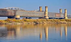 old Wisla bridge at Tczew (zima80) Tags: most wisa rzeka rzekawisa nikond5000 mostwtczewie oldwislabridgeattczew