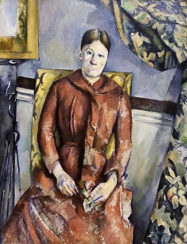 Paul Cézanne: Madame Cézanne by unbearable lightness