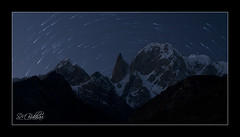 11 Dec-International Mountain Day (SMBukhari) Tags: pakistan lady landscape star dusk snowy finger trails peak hunza lastlight gilgit ladyfinger startrail hunzavalley hunzapeak syedmehdibukhari smbukhari