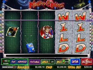 Monkeys to Mars bonus game