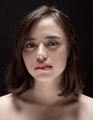Siobhan (stonedlove2006) Tags: portrait woman girl beauty face closeup studio body lips