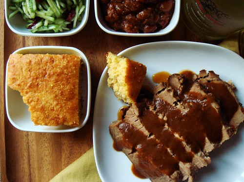 Barbecued Beef Brisket Dinner