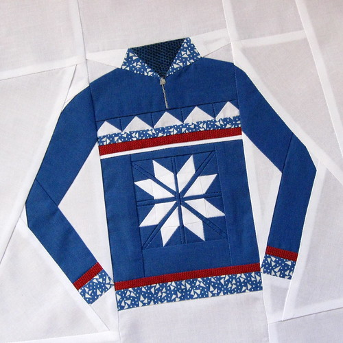 November Ski Sweater Block