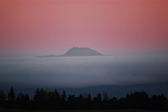 Pink Dawn above Cloud Inversion by David Alexander Elder (David Alexander Elder) Tags: above pink cloud david dawn elder inversion alexander